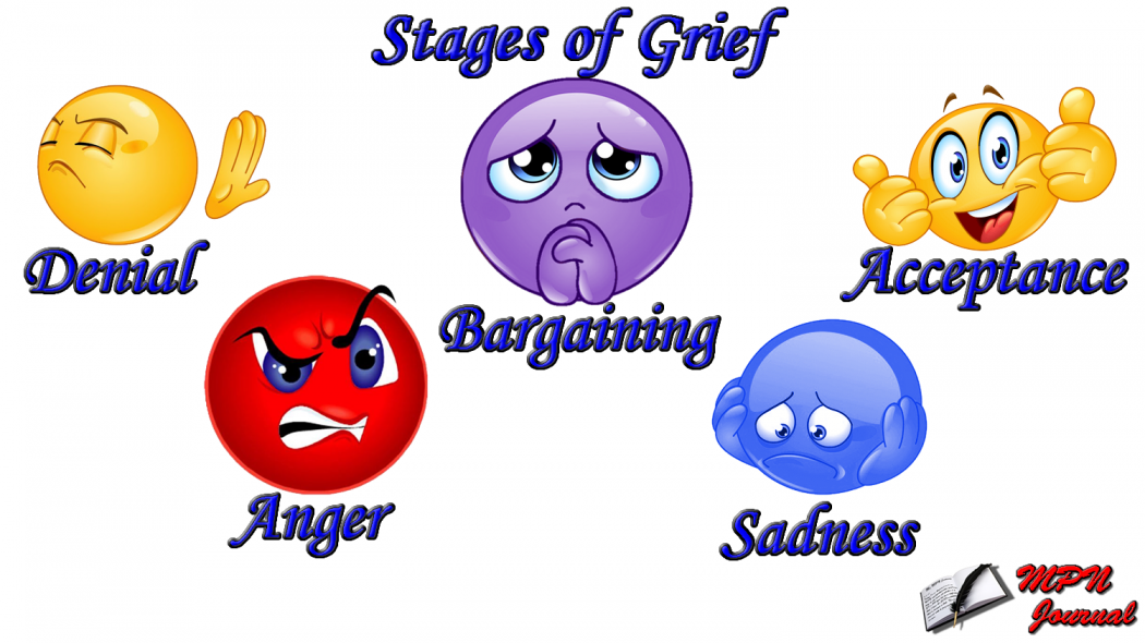 Stages of Grief Smiley